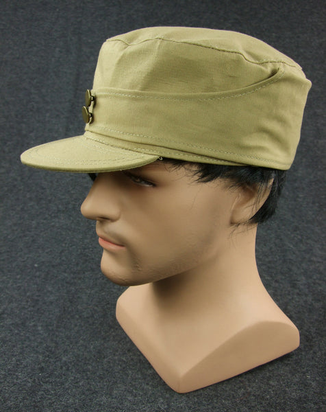 WW2 China KMT Field Cap Khaki Officer
