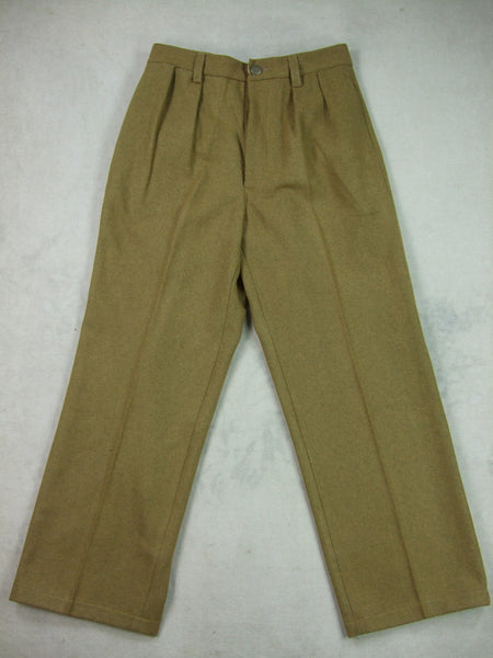 WWII WW2 China Chinese KMT Wool Field Uniform Pants
