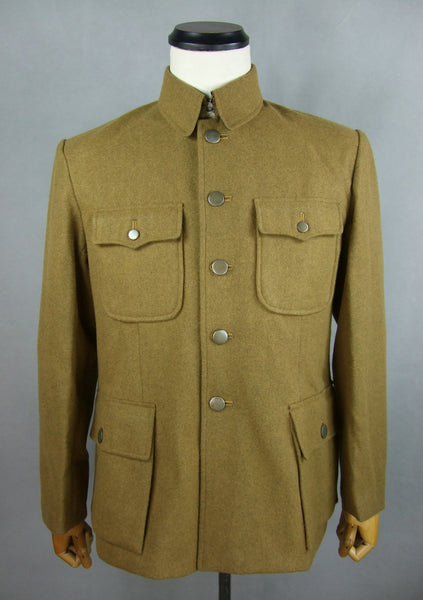 WWII China Chinese KMT Wool Field Uniform Jacket Tunic