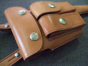 WW2 China KMT C96 leather Holster Reproduction