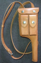 Load image into Gallery viewer, WW2 China KMT C96 leather Holster Reproduction