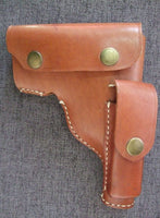WW2 China KMT Browning 1910 Holster Reproduction