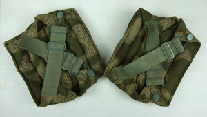 WWII German Tan & Water Camo Fallschirmjaeger Knee Pad