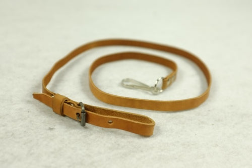 WW2 Soviet Russian Leather Pistol Lanyards Early Version