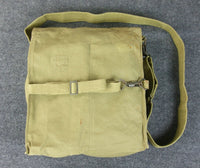 WWII World War 2 Russian Gas Mask Bag Tan Post War Original
