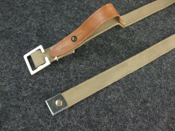 WWII Soviet Union Equipment Strap Canvas + Leather