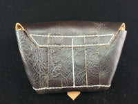 WWII Soviet Red Army Leather SVT40 Ammo Pouch Dark Brown