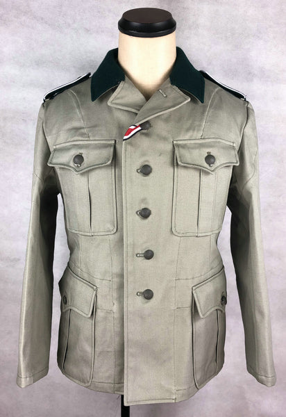 WW2 German Sudfront Enlisted Soldier M36 Field Tunic Jacket EM