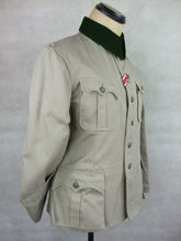 Load image into Gallery viewer, WWII German Sudfront Officer M36 Field Tunic Jacket