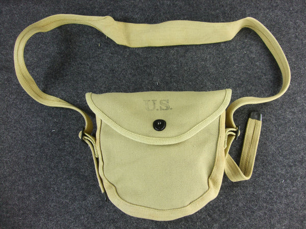 WWII US Army Thompson Drum Agazine Pouch