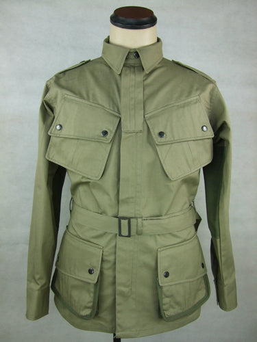WWII United States US M42 Airborne Jumpsuit Jacket Tunic