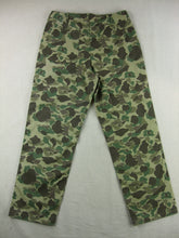 Load image into Gallery viewer, WWII United States USMC P42 Camo HBT Utility Trousers Pants