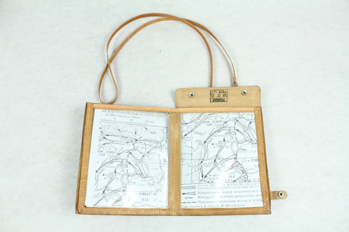 WWII Soviet Union Russian USSR CCCP Bag Officer Map Case Folder