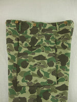WWII US Army Camo HBT Utility Trousers Pants