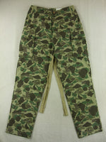 WWII US M42 Airborne Camo HBT Jumpsuit Trousers Pants