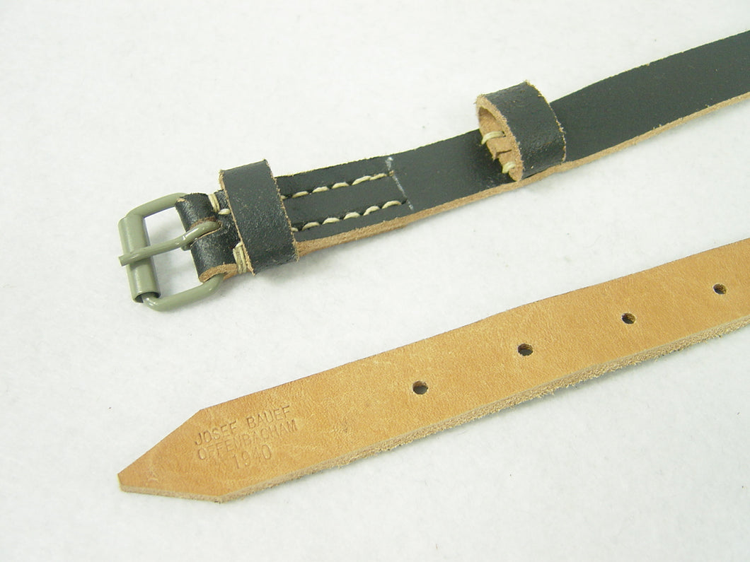 German WWII Equipment Straps 1940 Marked Reproduction