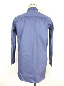 WW2 France French Enlisted M1935 Cotton Service Shirt Blue