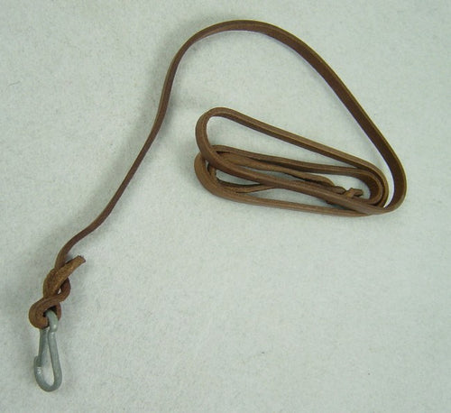 WW2 Soviet Pistol Leather Lanyards