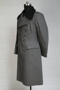 WWII Finnish Stone Grey Wool M22-36 Mantel Greatcoat