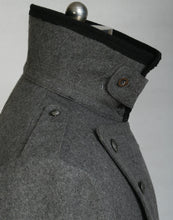 Load image into Gallery viewer, WWII Finnish Stone Grey Wool M22-36 Mantel Greatcoat