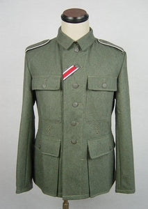 WWII World War 2 German M43 EM Wool Field Tunic WH