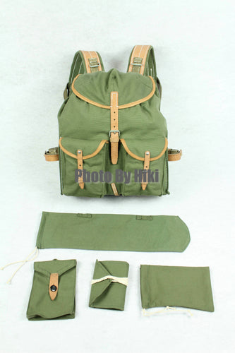 WW2 Soviet Russia Red Army M39 Rucksack Backpack Set Green