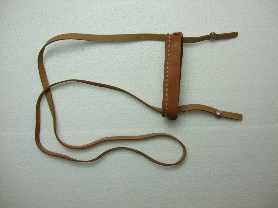 German WWII Binocular Top Lense Cover Guard + Strap