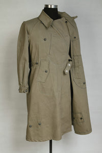 World War 2 WWII German Motorcyclist Wind Proof Overcoat Grey