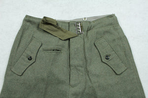 WWII German WH M40 Field Gray Panzer Trousers Pants Replica