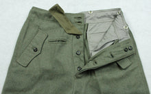 Load image into Gallery viewer, WWII German WH M40 Field Gray Panzer Trousers Pants Replica