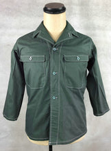 Load image into Gallery viewer, WW2 Janpanese Army IJA Tropics 2/3 Sleeves Shirt Dark Green