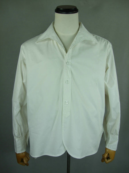 WW2 Japan IJA Officer Long Sleeve White Shirt