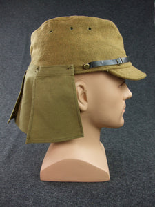 WWII Japanese Army IJA Field Cap & Havelock Set