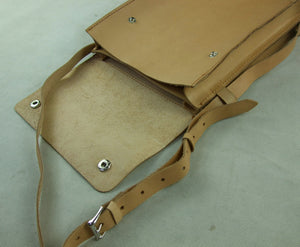 WW2 Italy Italian Army Leather Map Case Folder