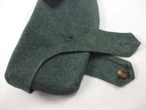 WWII Italian M35 Grey Green Wool Bustina Garrison Side Cap