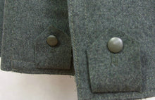Load image into Gallery viewer, WW2 Italy Italian M37 M40 Grey Green Wool Great Coat Cappotto
