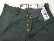 Load image into Gallery viewer, WW2 Italian Grey Green Wool Breeches For Officers Mounted Troops