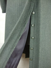 Load image into Gallery viewer, WW2 Italy Italian Gray Green Wool Officer Great Coat Cappotto