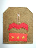WW2 IJA Breast Rank Private Sergeant 1St Class Engineer 3R