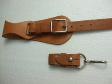 Load image into Gallery viewer, WW2 Russian Leather Sword Belt Strap Chain