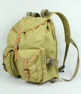 World War II Soviet Russia Red Army M39 Rucksack Backpack Sand