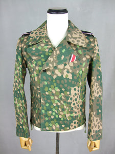 WWII German Elite Panzer Dot Camo Tunic Wrap Jacket