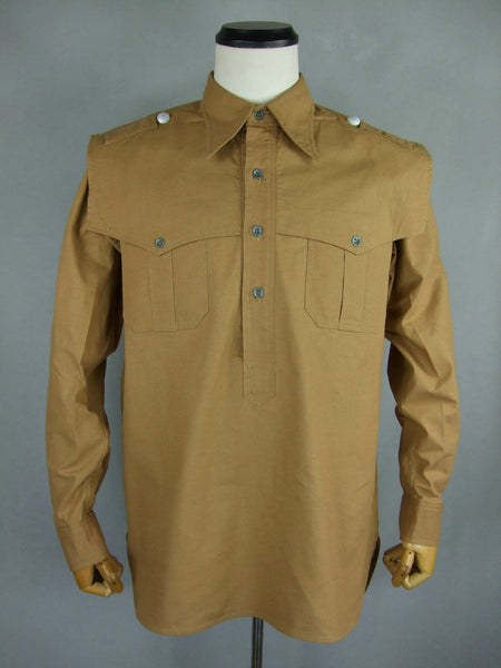 WWII German Elite Afrik Tropic Troops Shirt