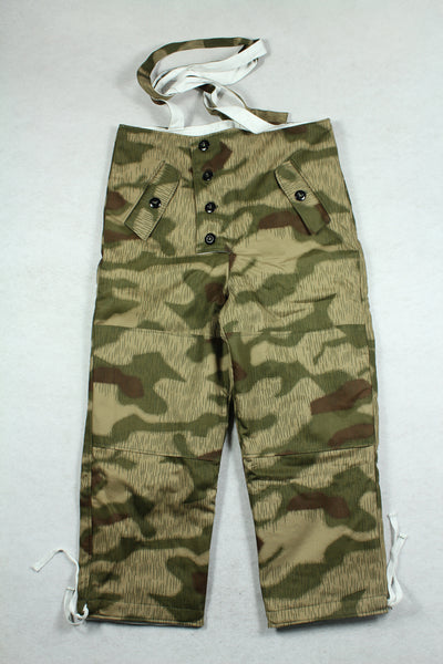 WW2 German Tan & Water Camo Winter Reversible Trousers