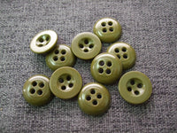 WWII Great Britain British Army Uniform Buttons 18mm X10