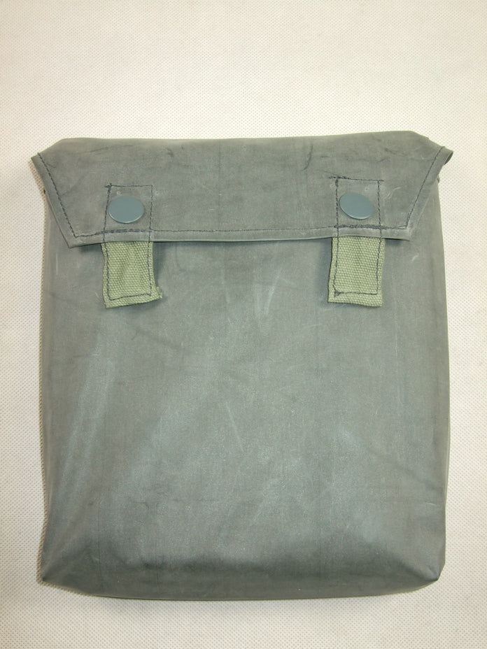 WWII German Gas Mask Cape Pouch Bag Reproduction Rubberized