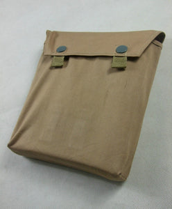WW2 German Gas Mask Cape Pouch Bag Reproduction Tan