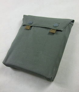 WWII German Gas Mask Cape Pouch Bag Reproduction Grey