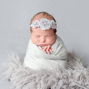 Newborn Art Style On Home Session