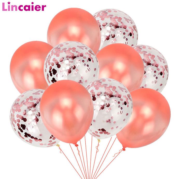 Happy Birthday Party Decorations 10pcs Balloons Baby Shower Party Just Married Supplies Princess First Birthday Girl Boy